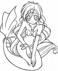 coloring pages mermaids coloring pages to print for teenagers 04 mermaids pinterest
