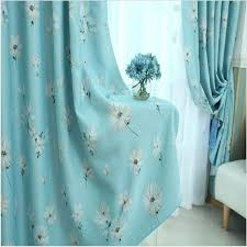 Teal Bird Curtains Paisley Block Printed Indian Cotton Fabric Remnant In Teal Color