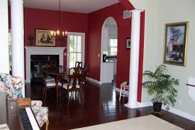 rooms painted with different colours and wall design page of house