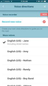 How To Change Google Maps Voice Waze 101 How To Use Different Voices For Navigation U0026 Directions