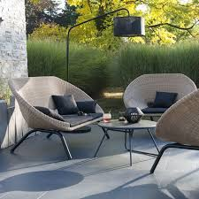 salon de jardin en rotin collection loa castorama 1065e salon