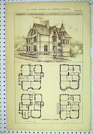 Queen Anne Style House Plans Vintage Victorian House Plans Classic Victorian Home Plans