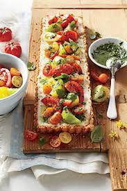 Ina Garten Tomato Tart Recipe Savory Tomato Pie Recipes Southern Living