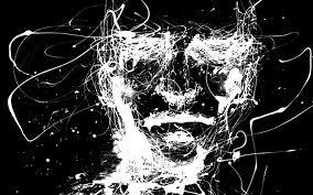 imagenes blancas en fondo negro imagen abstracta con lineas blancas y fondo negro