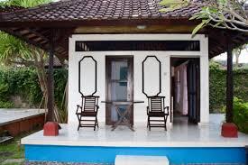 sekar orchid beach bungalows bali accommodation hsh stay