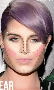 pear shaped face hairstyles contouring for pear shaped face pinteres