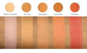 makeup geek eyeshadow pan peach smoothie makeup geek