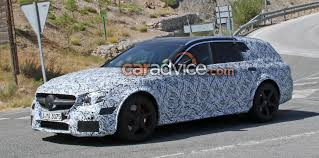 audi wagon black 2018 mercedes amg e63 black series wagon spied photos 1 of 6