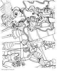 free printable barbie pearl princess colouring pages
