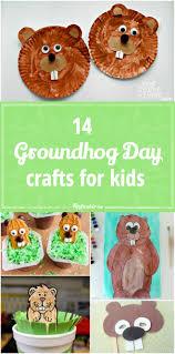 14 groundhog day crafts for kids tip junkie