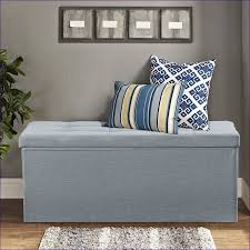 furnitures ideas gray leather ottoman living room ottoman bench