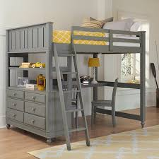 Bunk Bed With Mattress Set Bedroom Decoration Loft Bed Frame Detachable Bunk Beds With