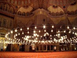 Beautiful Lighting 30 Most Incredible Interior View Images Of The Blue Mosque Istanbul