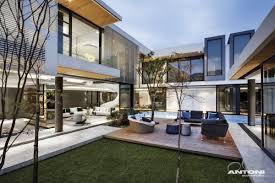 l shaped house furniture awesome u shaped house design by saota and antoni