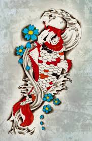 koi fish design by blacksilence92 deviantart com on