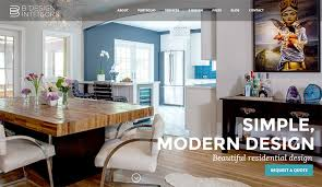 Interior Designer  Decorator Websites Portfolio Inspiration - B home interior design