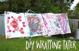 make your own wrapping paper how to make your own wrapping paper with kids kid magazine