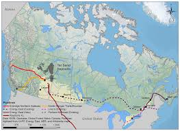 Keystone Xl Pipeline Map The Tar Sands And Climate Change Greenpeace Canada