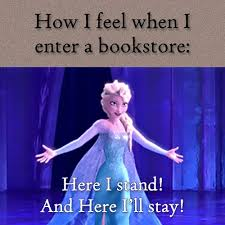 Buy All The Books Meme - 8 types of people you meet at the bookstore