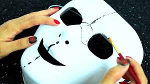 fnaf circuit baby halloween mask tutorial easy diy costume youtube