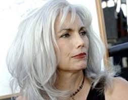 highlights for white hair on older women along by coloring your whole head silver or white consider dying