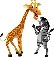 imagenes de amistad jirafas fábula doña cebra y doña jirafa bosque de fantasías