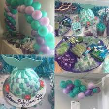 mermaid baby shower creative decoration mermaid baby shower projects idea of
