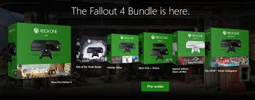 fallout 4 1tb xbox one bundle target black friday microsoft is announcing a new xbox one bundle every day this week