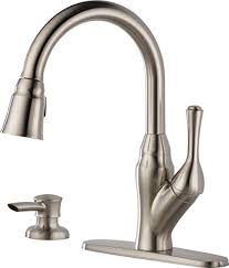 Kitchen Sink Faucets Amazon Com by Delta 16971 Sssd Dst Velino Pull Down Kitchen Faucet With