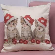 taie d oreiller pour canapé joyeux noël taie d oreiller modèle décoratif oreillers