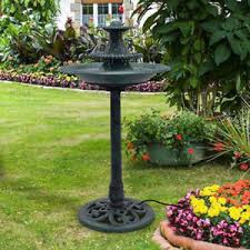 Water Fountain For Backyard - bird water fountain ebay