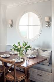 Dining Table Banquette Light Gray Kitchen Banquette Small Square Wooden Dining Table Wall