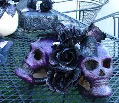 halloween skulls decoration
