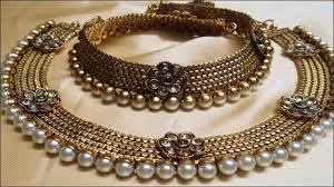bridal choker necklace images Latest wedding jewellery designs gold bridal choker necklace jpg