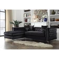 Nailhead Sleeper Sofa Sofas L Shaped Sofa Italian Sofa Sofa Modern High Back Sofa