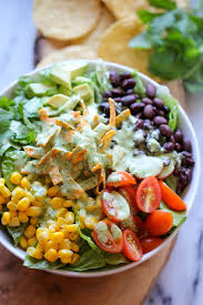Garden Vegetable Salad by Southwestern Chopped Salad With Cilantro Lime Dressing Damn