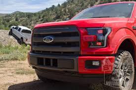 Ford Raptor Red - 2015 2017 f150 raptor retrofit oem led replacement headlights rapr