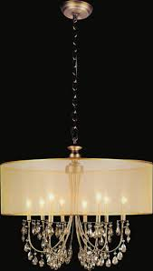 Drum Shade Chandelier Lighting 5 Light French Gold Drum Shade Chandelier From Our Halo Collection