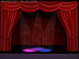 Stage With Curtains Actor 3d Models Download 3d Actor Available Formats C4d Max