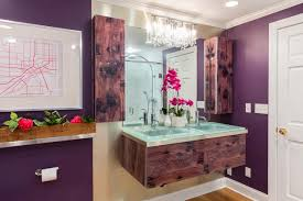 Purple Bathroom Ideas Purple And Grey Bathroom Decor Finest Sleek In Blue With Purple