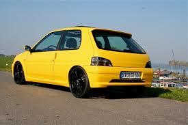 peugeot yellow 106 s16