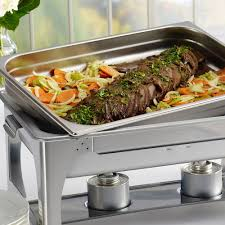 Sterno S Mores Buffet by Tramontina 9 Quart Full Size Chafing Dish Food Pan Stainless Steel
