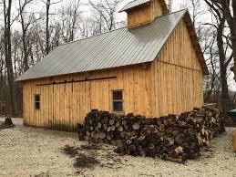 20x30 sugar shack barn plans