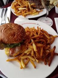 cuisine a l americaine burger à l américaine picture of le montparnasse cafe