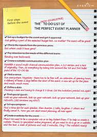 how to become an event planner discover the to do list of the event planner wedding