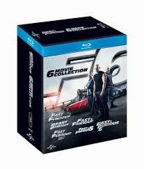 tripleclicks com fast u0026 furious 1 6 english blu ray box set