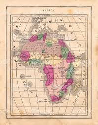 Map Pf Africa by Antique 1867 Map Of Africa Geography History Cartography Stock