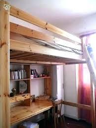 bureau 2 places impressionnant lit mezzanine bureau ikea 2 places 140 en bois 1