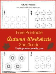 autumn worksheets free printables the happy housewife home