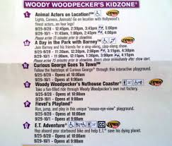 universal halloween horror nights map woody woodpecker u0027s kidzone at universal studios florida